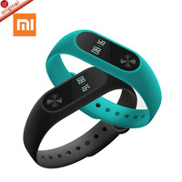 2016 New Original Xiaomi Mi Band 2 OLED Touch Screen Smart Heart Rate Fitness Tracker Bluetooth