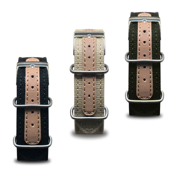 Onthelevel Nato Watchband Nylon Zulu Strap 18mm 20mm 22mm Watch Strap Silver Pin Buckle Wristwatch  #D nato strap suede leather zulu watch band strap blue black soft watchband stainless steel square buckle 18mm 20mm 22mm 24mm