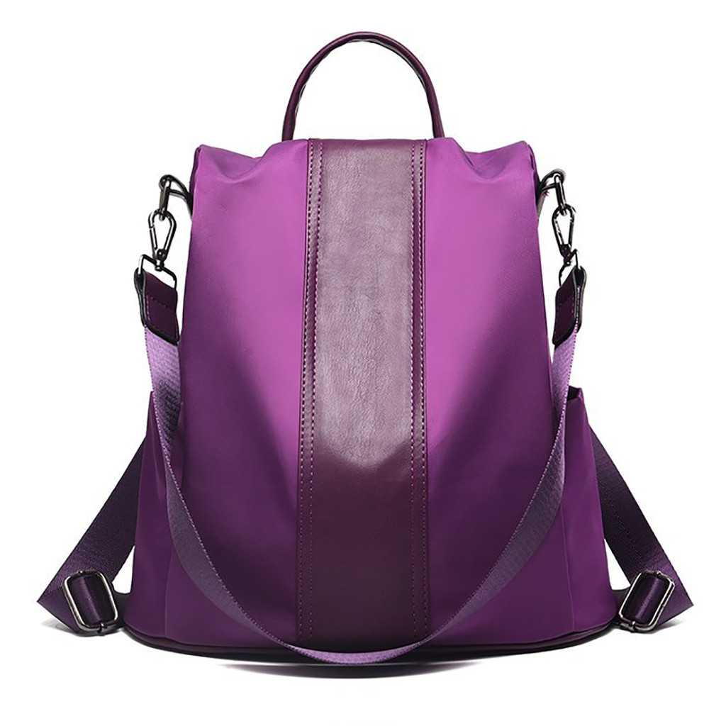 2019 Womens Backpack Fashion Solid Color Backpack Anti-Theft Bag Wild Shoulder Bag Waterproof Mochilas Mujer dropship#T32019 Womens Backpack Fashion Solid Color Backpack Anti-Theft Bag Wild Shoulder Bag Waterproof Mochilas Mujer dropship#T3