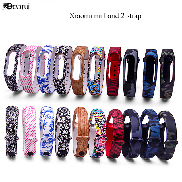 Pulsera miband 2 strap For xiaomi mi band 2 bracelet  Mi Band2 Accessories Smart correa wrist strap  with top quality silicone