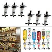 6 station Wall Mounted Liquor Bar Butler Wine Dispenser Machine Drinking Soda Pourer Home Bar Tools for Beer Soda Coke Fizzy