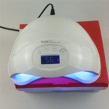 XIXI SUN5 Plus 48W UV Lámpara LED de Doble Manos Lámpara de Uñas Led Secador de Uñas de Curado Para UV Gel Esmalte de Uñas Con LCD Temporizador Sensor de Pantalla