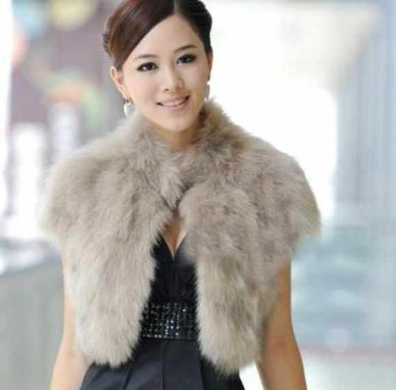 2018 vetement Winter vrouwen Faux Vos Bont Vest Party Slim Preppy Taille Jas Plus Size Wilde Nertsen Imitatie Bont vest AW218