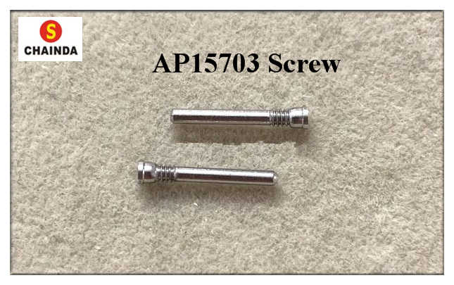 Free Shipping 1 Pair High Quality AP 15703 Watch Screw Tube Generic for Watch Repair