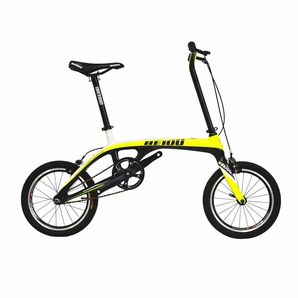 beiou sports downtown carbon 1 speed complete bicycle comfort bike 16 inch wheels ultra superlight urban bike 152lb bo cb006