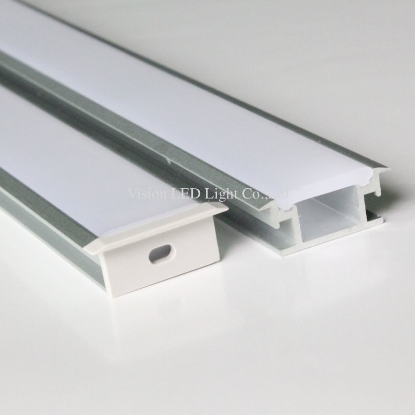 Us 92 45 20m 10pcs A Lot 2m Per Piece Floor Aluminum Profile For Led Strip Light Thick Cover Which Can Be Step On In Strips From Lights