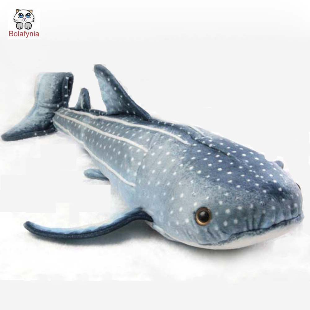 BOLAFYNIA Children Plush Stuffed Toy simulation Leopard shark pillow Baby Kids Toy for Christmas Birthday Gift 73cm