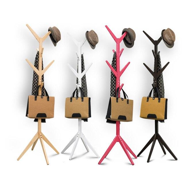 Massief Houten Kapstok Tak Kinderen Mode Kleding Rek Haak