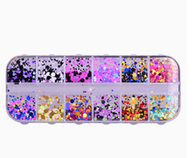 Nail color mixing size wafers ultra-thin clothing post Senior matching film manicure DIY sequins jewelry nail accessories