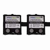 IXNN4002B 800 mAh NI-MH Batterie Pour MOTOROLA TLKR T80 T80Ex XTR446 XTB446 XT180 XTK446 TLKR T61 T81 T5 T6 T7 T8 T50 T60 Radio