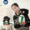 Мультфильм милый Дед Мороз серии объем одеяло плюшевые игрушки пингвин snowman подушка детское одеяло детские Рождественские подарки