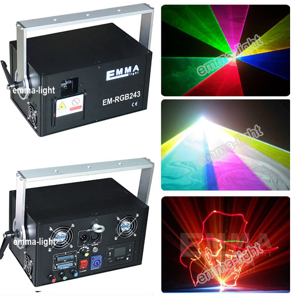 2w rgb red green blue Beam animation laser light rgb outdoor sky skywriter laser projector