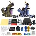 Solong Tattoo Principiante 2 Rotary Tattoo Machine Guns Kits Power Supply Foot Pedal 20 Apretón de Las Agujas Consejo Ink Cup TK201-36