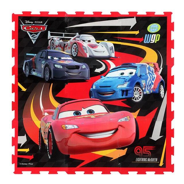 Disney Frozen Princess Cars 3 Cute Baby Edcuational Toys EVA Puzzles Floor Play Mats for Kids Boy Girl Room Decor Gift Licensed