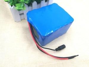 Image 3 - 24 V 10 Ah 6S5P 18650 Batterij Lithium Batterij 24 V Elektrische Fiets Bromfiets/Elektrische/Lithium Ion Batterij pack + 25.4V 2A Charger