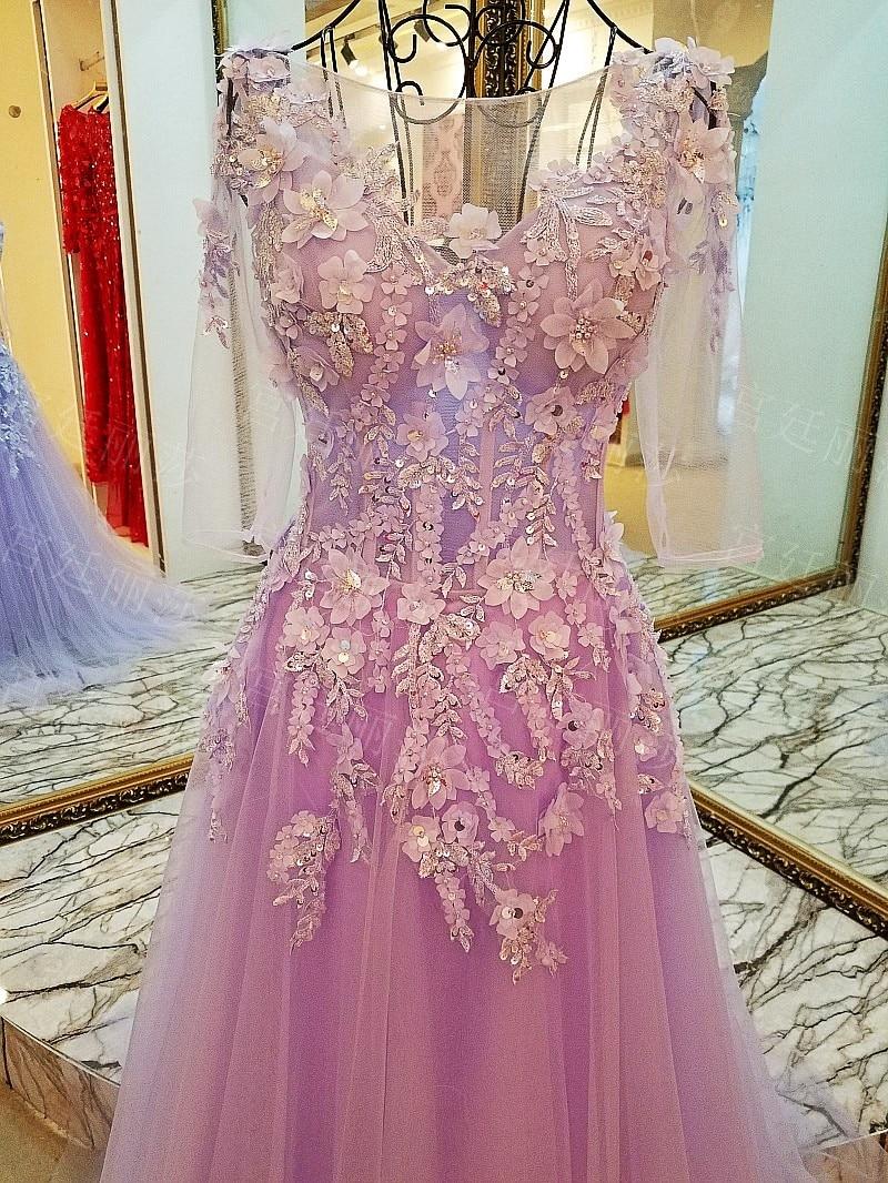 Increíble Vestido De Fiesta De La Lavanda Regalo - Colección de ...
