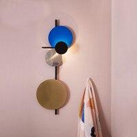 Датский дизайн светодиодный настенный светильник планета настенный светильник ванная комната отель Декор для ресторана Домашнее освещени