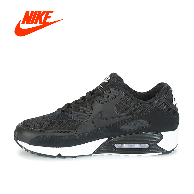 Intersport Original New Arrival Authentic Nike AIR MAX 90 ESSENTIAL Men's Breathable Running shoes Sports Sneakers classic new arrival original authentic nike air max plus tn ultra breathable men s running shoes sports sneakers
