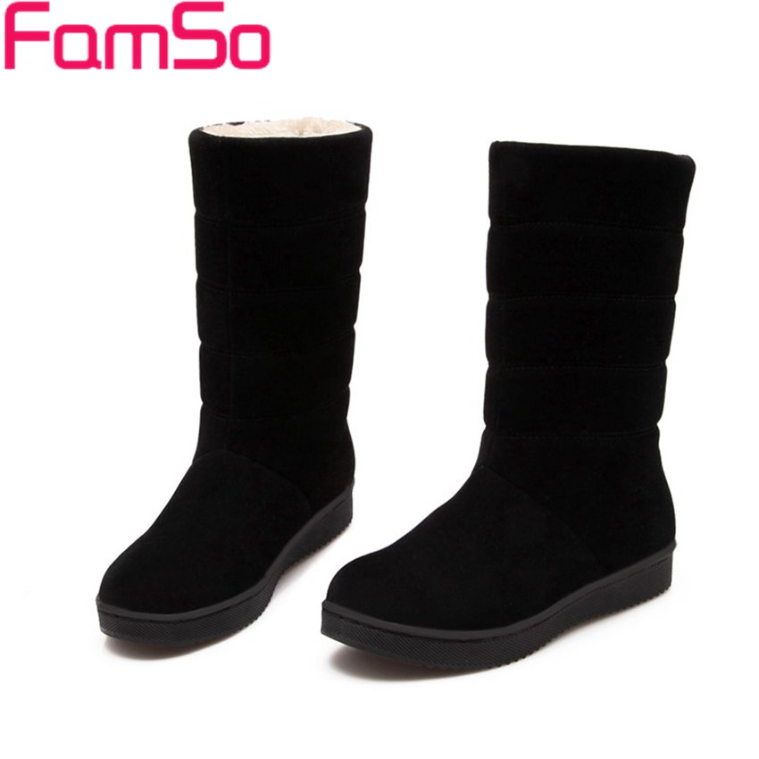 Free shipping 2016 New Arrival font b Women b font Boots Black Spring Platforms Shoes Half