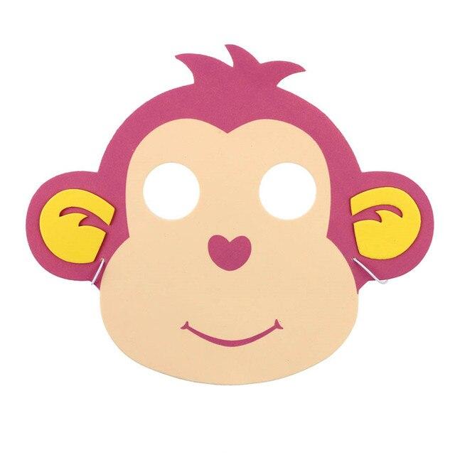 Espuma de Eva animales Máscaras para niños cumpleaños Recuerdos de ...