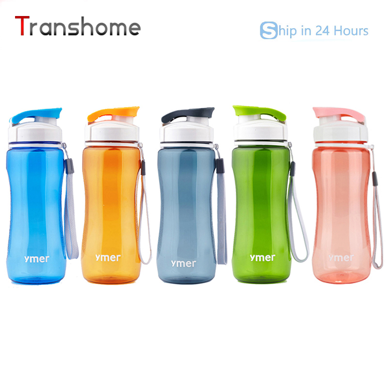 Healthy Bicycle <font><b>Water</b></font> <font><b>Bottle</b></font> Simple Space Sport Cup Travel Hiking Running <font><b>Bottle</b></font> 560ML 470ML Transhome