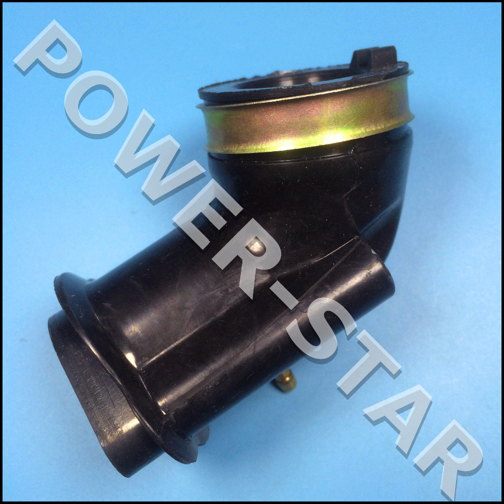 Fuel gas for sale atv body parts for sale online - Intake Pipe 157 3 Atv Parts Gy6 150cc Scooter Engine Parts Carburetor Manifoid Intake Wholesale