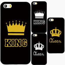 King Queen YOUR MINE Cover case for iphone 4 4s 5 5s SE 5c 6 6s 7 plus samsung galaxy S3 S4 S5 S6 S7 mini EDGE Note 3 4 5