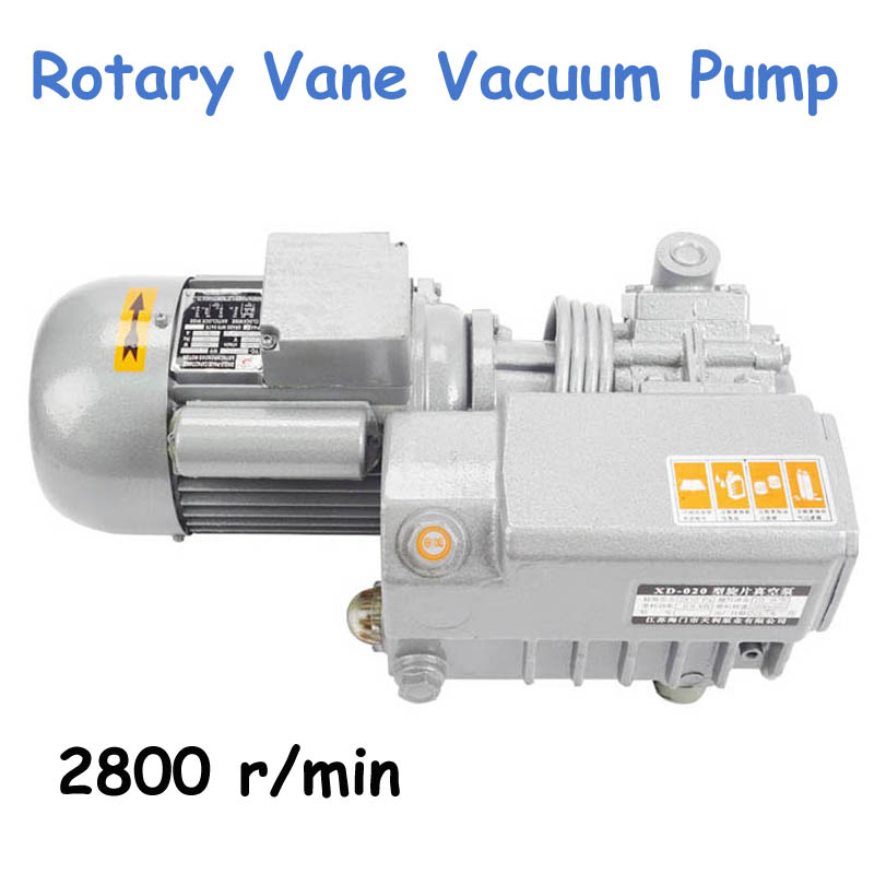 Rotary Vane Vacuum Pump Vacuum Suction Pump Small Vacuum Motor XD-020 new products protable small mini electric vacuum pump price rotary vane vacuum pump