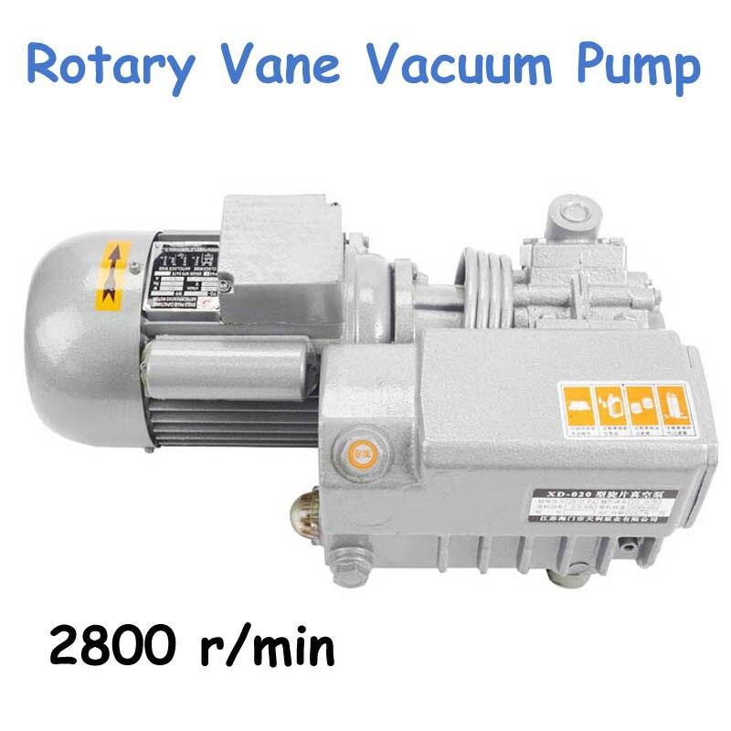 Rotary Vane Vacuum Pump 220V/380V Vacuum Pumps Suction Vacuum Machine Motor XD 020