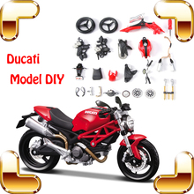 New Idea Gift Maisto DCT Motor 1/12 Model Motorcycle Collection Toys Decoration DIY Game Family Work Together Assemble Motorbike