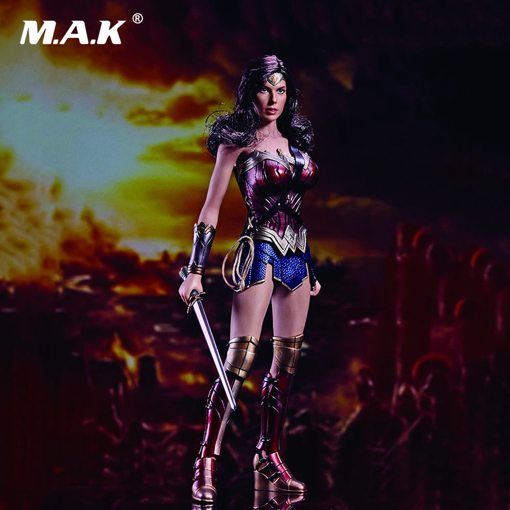 1/6 Scale The Wonder Woman Warriors Collection Full Set Action Figures Collections Toys Gifts secret warriors the complete collection volume 1