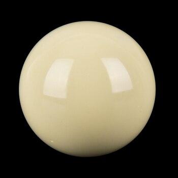 """Billar blanco de 57,2mm, 2 1/16 """", Bola de billar, mesa de billar, Bola de entrenamiento, 2 diámetro, 1/4"""", bola de billar de nueve bolas"""