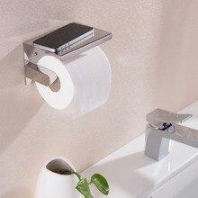 Лучшие 304 # нержавеющей стали туалет рулонной бумаги держатель ткани box Аксессуары Для Ванной Комнаты