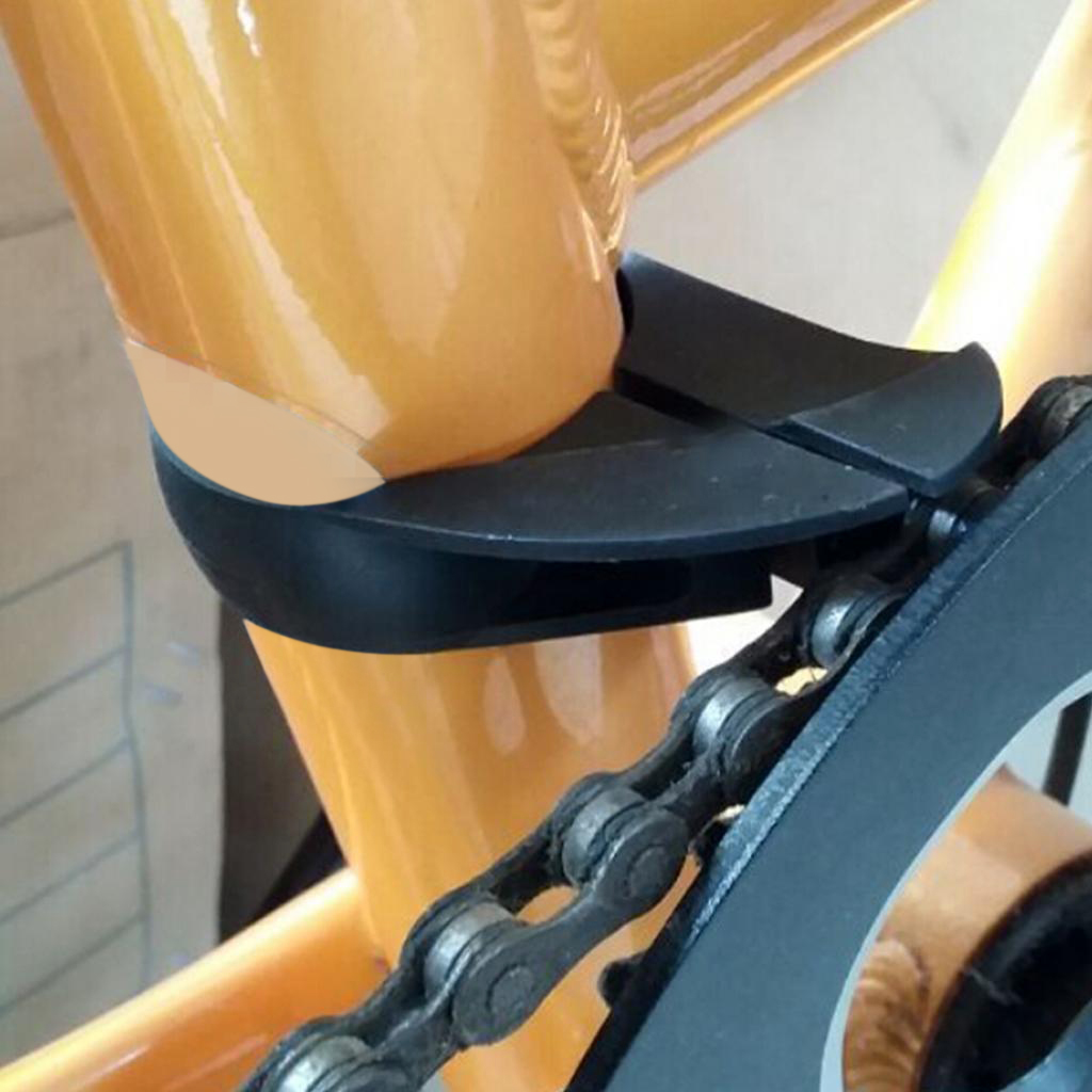 Practical <font><b>Bike</b></font> Chain Falling Down Resistant Deflector Single Speed Chains Guide <font><b>Clamp</b></font> with Mounting Screw Bicycle <font><b>Parts</b></font> image