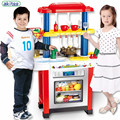 New Play Kitchen Set ABS Plastic Kid Food Fruit Kitchen Cooking Toys Role Play Children Cosplay Educational Ablility Develop toy