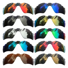 085b83f590 PAZZER BY Polarized Mirrored Coating Replacement Lenses for-Oakley Radar  Path Vented