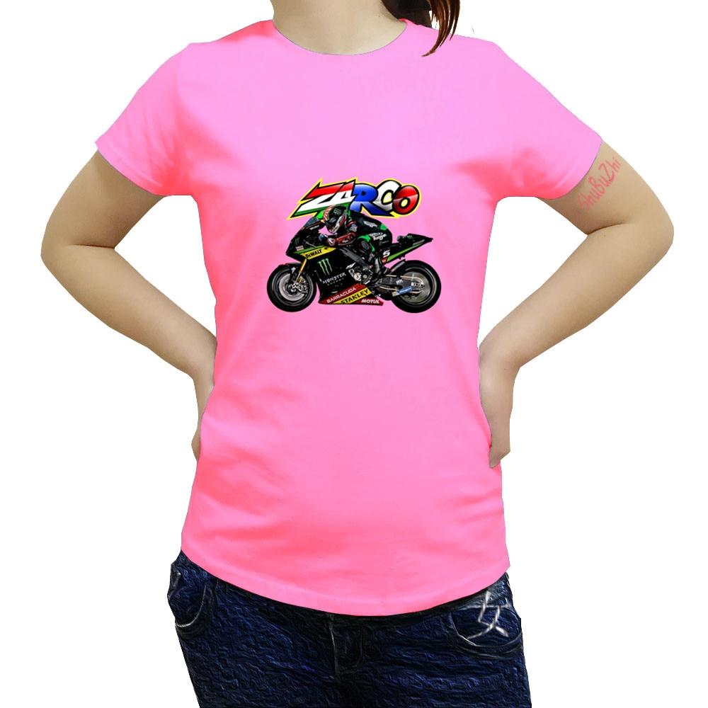 T Shirt Johann Zarco 5 MotoGp Motorcycle Moto GP Qatar Doha Test Adult O  Collar Short 825e26b16120