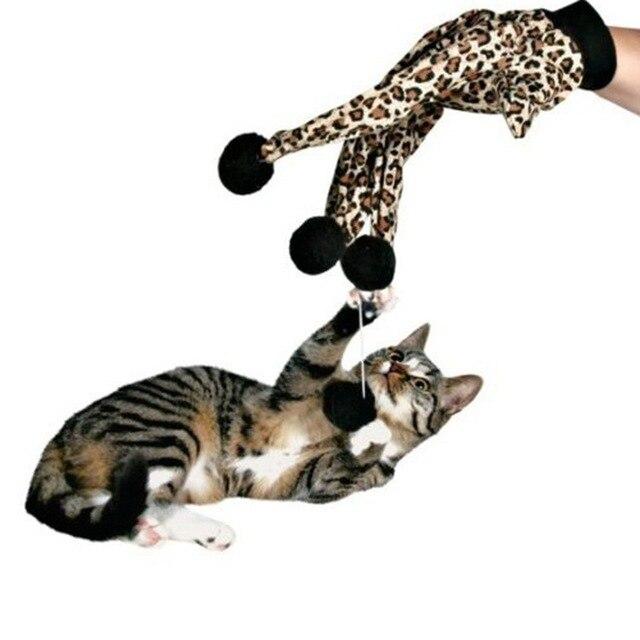 Gato juguetes gato mascota Scratch guante juguetes leopardo estilo ...