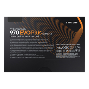 Image 5 - 삼성 SSD 970 EVO Plus 250GB 500GB 1 테라바이트 NVMe M.2 2280 NVMe 내장 SSD 솔리드 스테이트 하드 디스크 SSD PCIe 3.0x4, NVMe 1.3 노트북