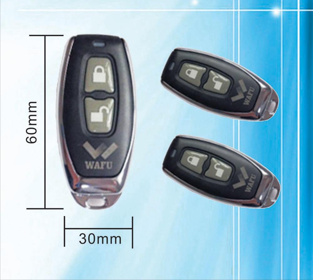 bilder für WAFU Fernbedienung 315 MHZ für WAFU Smart Lock Modell WF-008