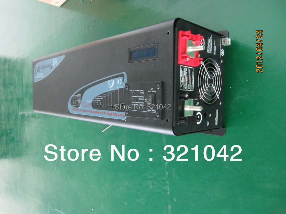 LCD display peak power 3000W rated power 1000W frequency pure sine wave inverter DC12V/24V to ac220v with auto voltage regulator