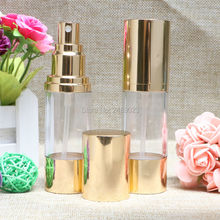30ml Travel Mini Deluxe Golden Refillable Atomiser Spray Perfume Bottles Empty Perfume Bottle Cosmetic Container