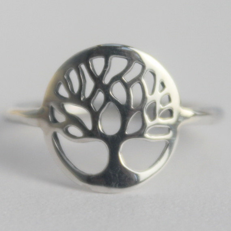 tree of life intention ring yggdrasil sacred viking symbol. Black Bedroom Furniture Sets. Home Design Ideas
