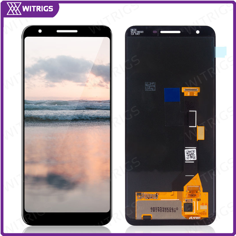 Witrigs LCD For Google Pixel 3a LCD Display Touch Screen Digitizer Assembly Replacement