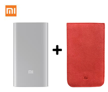 Original Xiaomi Power Bank 5000mAh Mi Portable Charger Slim Powerbank 5000 for iPhone Xiaomi HTC Lenovo Mobile Phones