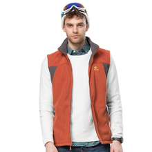 2015 men hiking vests clothing for autumn spring soft sleeveless jackets coat warm camping outwear for male man boys mens JW5151