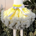 Baby Kid Bow knot Floral Bow Skirt Girl All-Match Flower Tutu Ruffle Tiered Skirt PETS-156