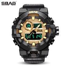 SBAO New Sport Watch Men Watches Top Brand Luxury Famous Electronic LED Digital Wristwatch For Men Male Clock Relogio Masculino