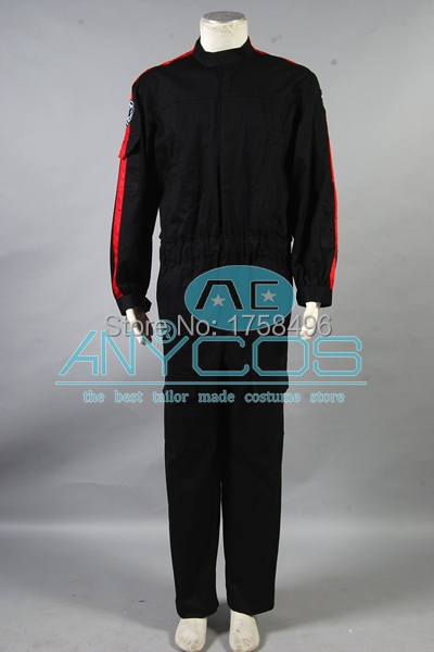 Star Wars Imperial Tie Fighter Pilot Black Flightsuit costume /<custome made/>