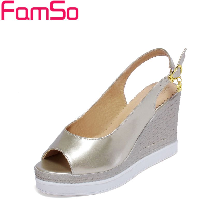Free shipping 2016 Shoes font b Women b font Sandals gold Silver High Heels Shoes Slingbacks